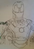 Iron Man Mark 42 by Gilly5