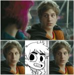 A Comic Accurate Scott Pilgrim by ZedEdge