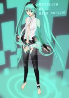 Hatsune Miku Append by sioAoi
