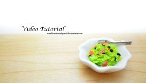 [Video Tutorial] - Miniature Salad by SmallCreationsByMel