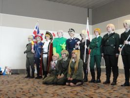 Englands at Hetalia photoshoot by VampireFreakism