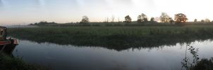 Canal Panorama by RobSweetman
