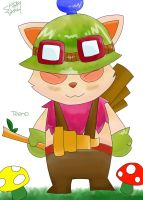 Teemo by Shiraydaku