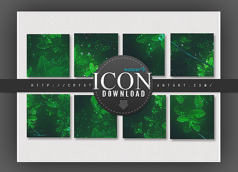 Icon textures Pack-03 green#8 by Crystallanxi