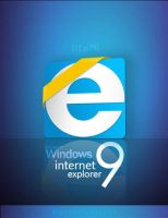 dock icon for ie9 by mustafahaydar