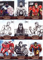 IronMan 2 Sketch Cards 2 by OptimusPraino