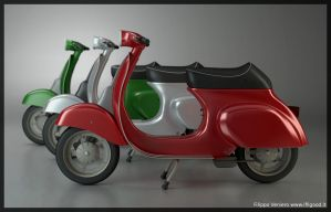 Vespa 50 by ifilgood