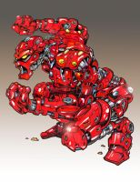 Red Robot 2 by Sw-Art