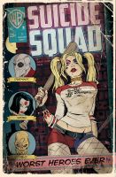 Suicide Squad by MikeMahle