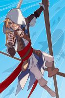 Assassins Creed Black Flag: Edward Kenway by paper-hero