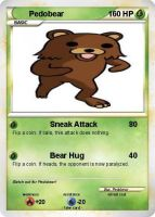 Pedobear Pokemon Card by XMSB