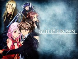 Guilty Crown Group Wallpaper by EclairDesigns