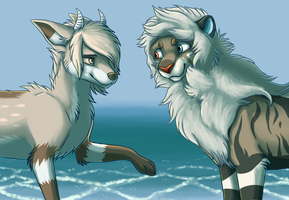 By the Water by SpitfiresOnIce