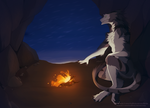 In the cave by Sidgi