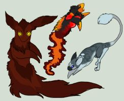 Creature Adopts GONE by DEAFHPN
