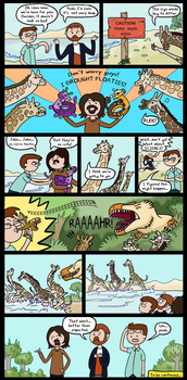 TetZoo Time! - Episode 3 (Comic 3/5) by classicalguy