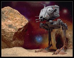 Star Wars AT-ST by AlexCphoto
