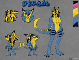 Sekral Ref Sheet by KingGigabyte