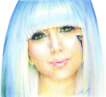 Lady Gaga by BuffaloChips