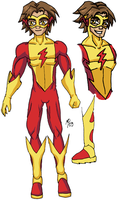 YJ Vol 2 - Kid Flash by UltimeciaFFB