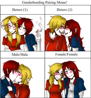 Genderbent Meme: ScotCan by CheerUpYouEmos1243
