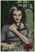 Lily Munster Collaboration by PsychoSlaughterman