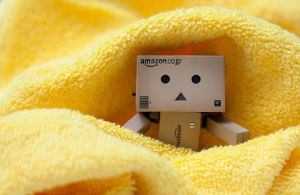 Danbo Surrounded By Yellow by mrk