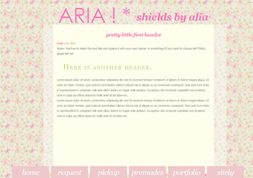 Aria Floral Layout by poundfreeze