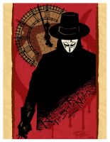 V for Vendetta by KidNotorious