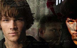 Supernatural Wallpaper by grace2design