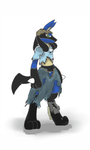V8 the Were-Lucario by V8Arwing67