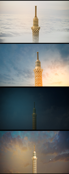 Cairo Tower by mnoso90