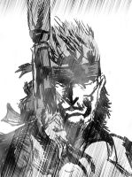 Solid Snake by Wraith60