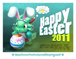 Happy Easter 2011 by Wenart