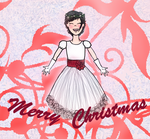 Jojo Christmas dress (Background) by loveDBZ