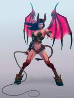 Succubus from World of Warcraft by elorhir