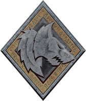 Space Wolves insignia by B-l-u-e-y
