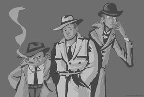 world's greatest detectives by Spoonfayse