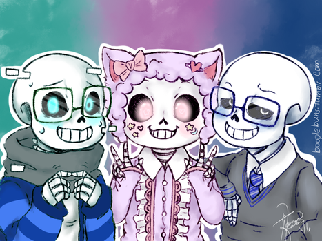 MORE UNDERTALE AU'S by booplebuns