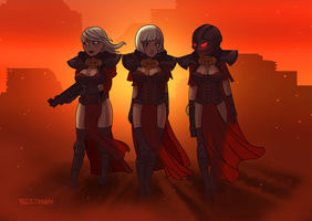 Sisters of Battle by VaultMan