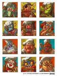 Food Fight Chef Avatars by RobbVision