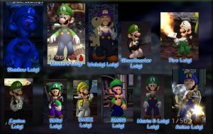 Luigi Costume Pack 2 by GEO-GIMP