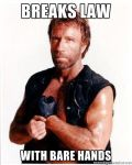 chuck norris by megadude234