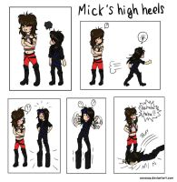 Mick's High Heels by SavanasArt