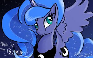 Luminous Luna by TheBlondeh