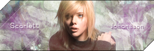 Scarlett Johansson Signature by Lazy-Bear