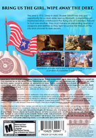 Bioshock Infinite Mock Cover Backside by TrapHat