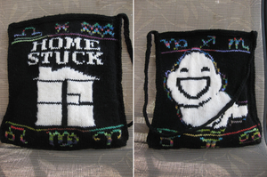 Homestuck Knitted Bag by Kurotaka-Naoko