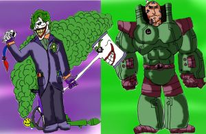 Joker and Lex BFF by jakester2008