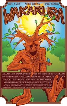 Wakarusa poster contest entry by sonnakolbE